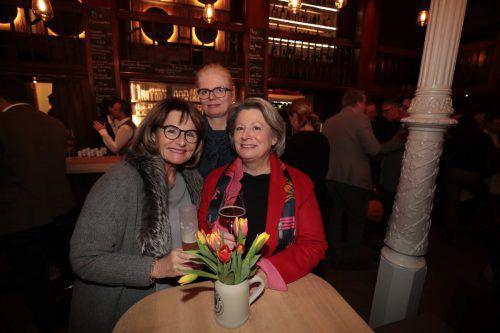 Annerose Zech, Claudia Wohlmuth und Gabi Lamberti.