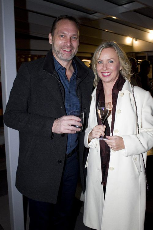 Architekt Bernd Spiegel und Daniela Krauland amüsierten sich blendend.
