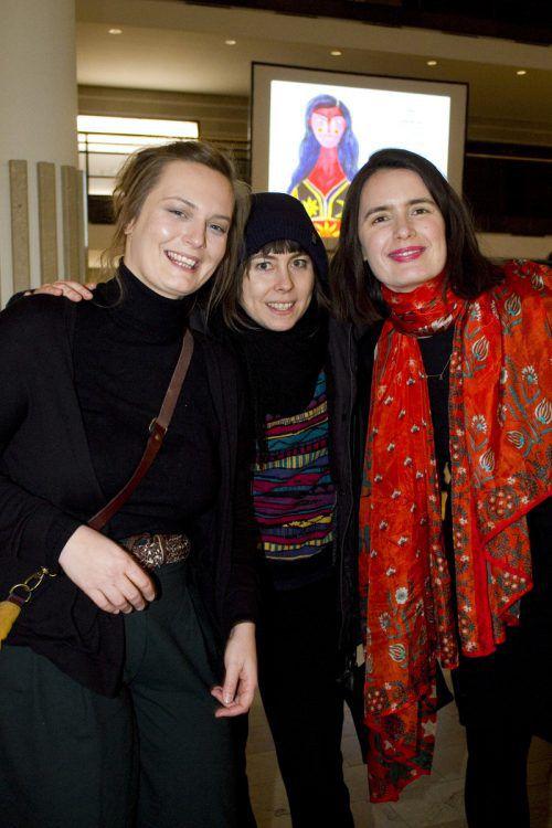 Astrid Neumayr (l.), Lena Seeberger und Bianca Tschaikner.