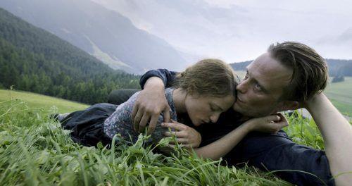 August Diehl mit Filmpartnerin Valerie Pachner. AP