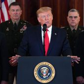 US-Präsident stellt ein Zerwürfnis in Abrede