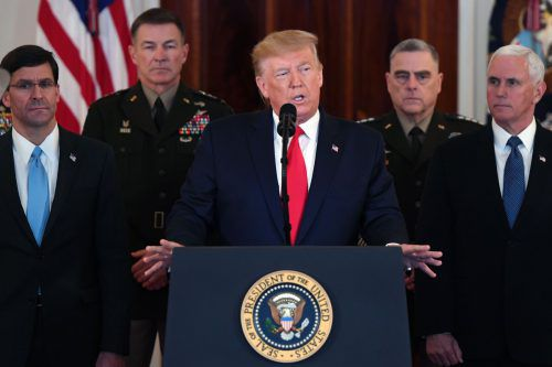 Aussagen Trumps und seines Verteidigungsministers wurden zunächst als offener Widerspruch gewertet. AFP