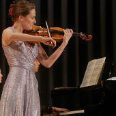 Begegnung mit jungen Musikerinnen