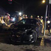 Kollision an der Kreuzung: 37-Jähriger übersieht Auto