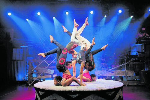 "Bereits nächsten Mittwoch, 15. Jänner, bringt ""Mama Africa – Circus der Sinne"" afrikanisches Lebensgefühl nach Bregenz.sebastian sajak"
