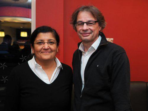 Berufsanwärterin Münevver Sahin und Steuerberater Gebhard Nägele.