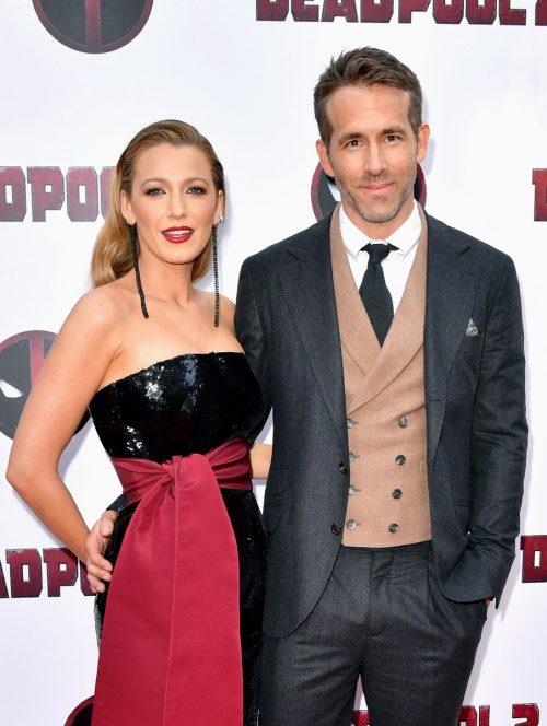 Blake Lively und Ryan Reynolds haben drei gemeinsame Kinder. AFP