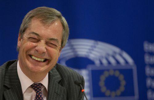 Brexit-Vorkämpfer Farage sieht sich am Ziel seiner politischen Träume. APA