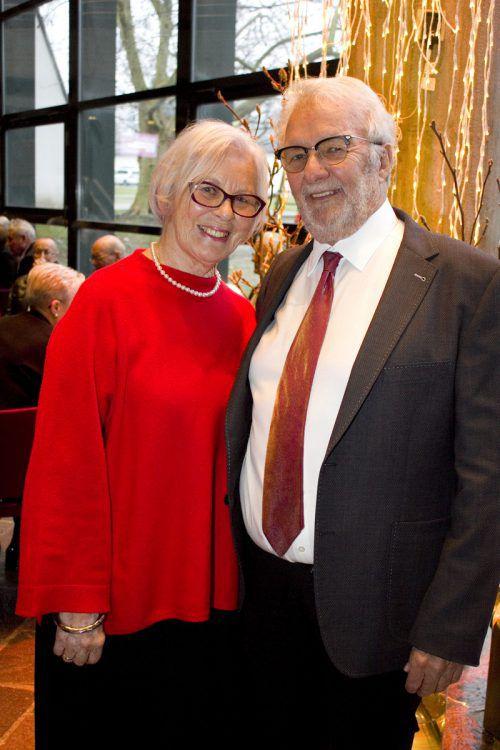 Christine und Werner Beer kamen aus Egg zum Konzert.
