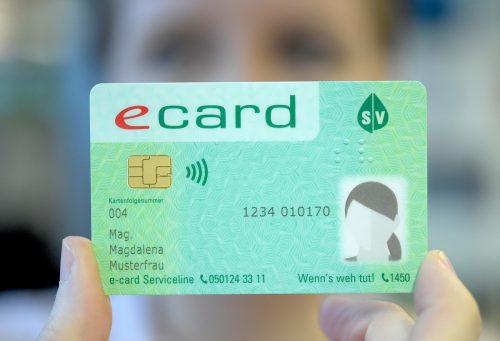 Damit das Foto auf der E-Card richtig ist, wird größter Aufwand betrieben. APA