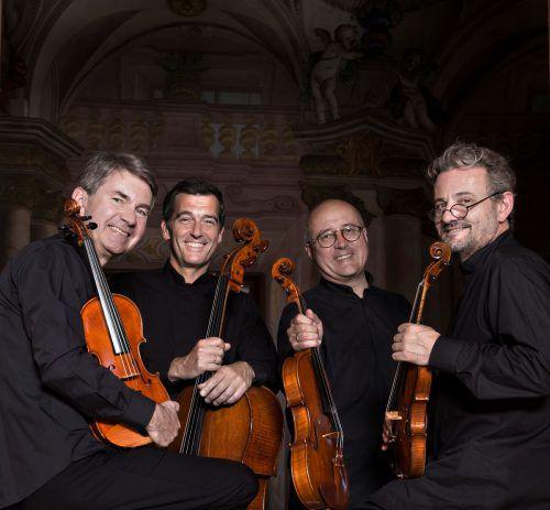 Das Artis Quartett Wien zählt zu den führenden Streichquartetten weltweit. NANCY HOROWITZ