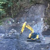 Baustart für Hochwasserschutz