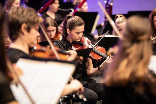 Das Jugendsinfonieorchester Mittleres Rheintal erweist sich als Publikumsmagnet. sams