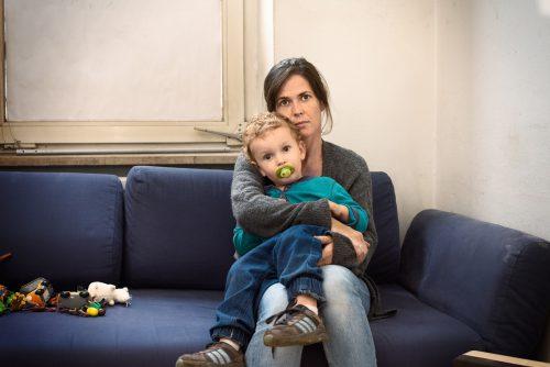 Das Leben einer Familie kann sehr schnell aus den Fugen geraten.caritas/weismann
