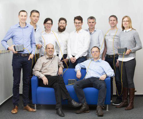 Das neue zehnköpfiges Retrofit-Team bringt mehr als 20 Jahre Erfahrung im Bereich Windenergie mit. Fa