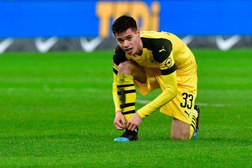 Der Deutsche Julian Weigl schnürt seine Schuhe ab sofort für Benfica Lissabon.afp