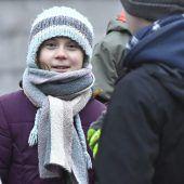 Greta Thunberg protestierte auch am 17. Geburtstag für das Klima