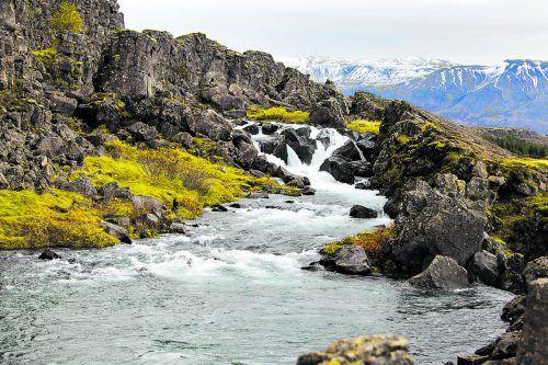Der Thingvellir Nationalpark gilt als Geburtsort des isländischen Parlaments.