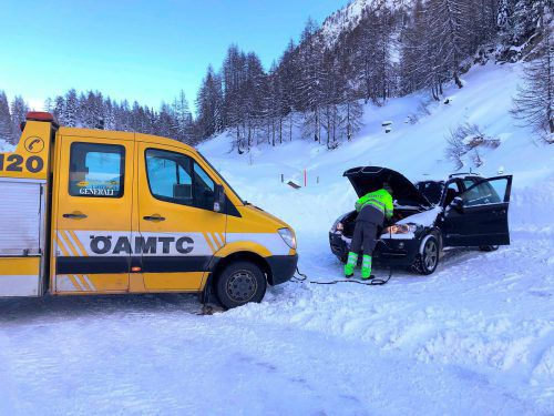 Der Winter macht vor allem den Batterien im Fahrzeug wegen der Kälte zu schaffen. öamtc