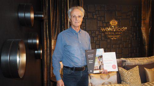 Der Wohnausstatter und Geobiologe Ernst Schwarzhans publizierte kürzlich ein neues Buch zum Thema schädliche Strahlung. Ral