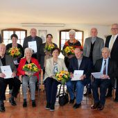 Gratulation in Lochau zur Jubelhochzeit