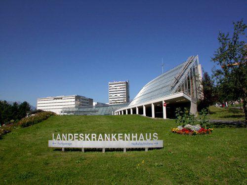 Am Landeskrankenhaus Feldkirch gab es personellen Zoff. khbg