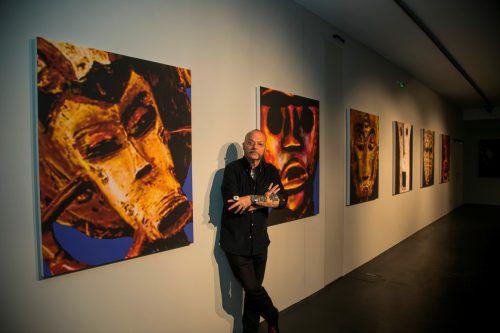 """Die Ausstellung """"Faces"""" im Flatz Museum in Dornbirn bot eine vielschichtige Auseinandersetzung mit Kultur und Wirtschaft. Paulitsch"""