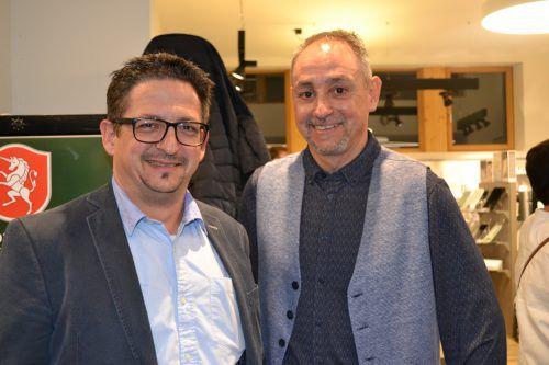 Die beiden Geschäftsführer Jürgen und Roland Neyer hatten eingeladen.