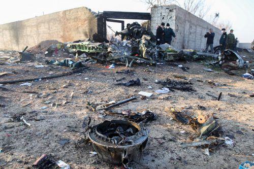 Die Boeing 737-800 ist in Flammen aufgegangen. Keiner der Menschen an Bord hat überlebt.AFP