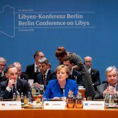 Libyen-Gipfel: Einigung auf Waffenstillstand