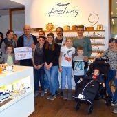 6000 Euro Spende für kranke Kinder