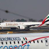 Golf-Airline Emirates sicherste Fluglinie der Welt 2019