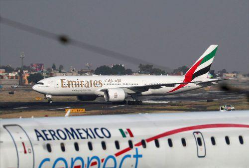 Die Golf-Airline Emirates ist die sicherste Fluglinie der Welt. Reuters
