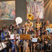 Spältaschränzer feierten Messe