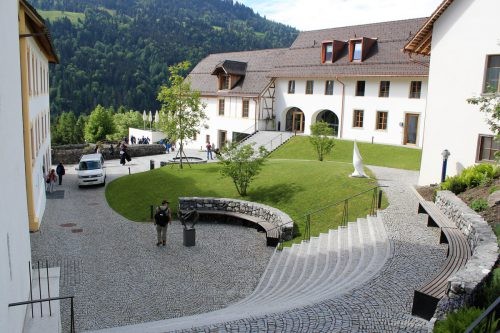Die innerbetriebliche Sanierung in St. Gerold im vergangenen Jahr habe der bisherigen Betriebsleiterin Sonja Feurstein viel Kraft abverlangt.VN