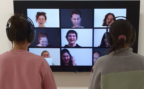 Die Lachkompositionen von Antonia Baehr sind Teil eines groß angelegten Forschungsprojekts. sorko