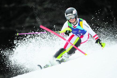 Die Lecherin Magdalena Egger gibt heute beim Nachslalom in Flachau ihr Debüt in der Ski-Königsklasse.gepa