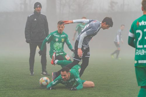 Die Lustenauer Austria hatte gegen Langenegg keine Mühe und siegte mit 6:0.STIPLOVSEK