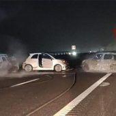 Gangster legen bei Raubüberfall in Italien Autobahn lahm
