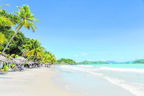Die wunderschönen Strände gehören für Touristen zu den Hauptgründen, die kleine Insel zu besuchen. Shutterstock (5)