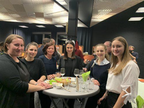 Die zahlreichen Gäste im Botta in Lustenau nutzten den Abend zum Erfahrungsaustausch und Netzwerken. Gemeinde