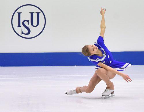 Mit einer neuen Kür versucht Olga Mikutina ihrem Programm mehr Qualität zu verleihen.apa