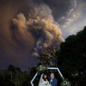 Vulkan Taal könnte Monate spucken
