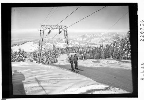 Eine Aufnahme des Hochälpelelifts aus dem Jahr 1960.
