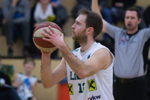Erzielte 15 Punkte gegen die Eisenstädter: Sebastian Gmeiner.STEURER
