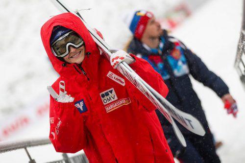 Eva Pinkelnig zeigt es an: Aktuell rangiert die Dornbirnerin auf dem zweiten Platz im Gesamtweltcup, auf Tuchfühlung mit der Weltmeisterin Maren Lundby aus Norwegen.Gepa