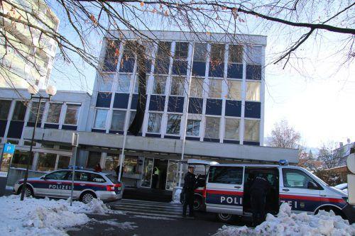 Fast ein Jahr nach der Bluttat in Dornbirn muss sich der Täter vor dem Feldkircher Landesgericht verantworten. VOL.at/Pletsch
