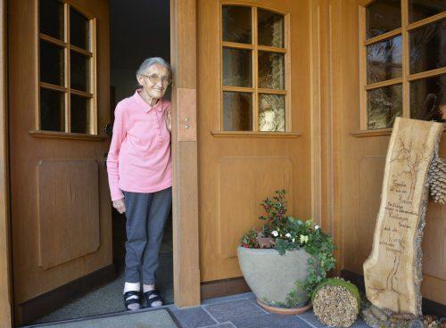 Mit 88 Jahren freut sich Martina Wohlgenannt an jedem Tag und nimmt ihn als Geschenk. eh