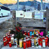 Schock und Trauer nach Unfalldrama mit sieben Todesopfern in Südtirol. D8