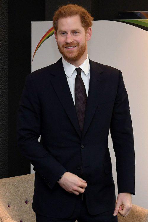 Prinz Harry setzt sich unter anderem auch für Kriegsversehrte ein. AFP